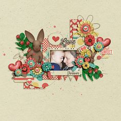 "Kristin Aagard ""Somebunny Loves You"" @Scrap Orchard http://scraporchard.com/market/Digital-Scrapbook-Kit-Somebunny-Loves-You.html"