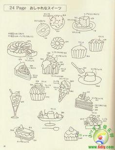 日本刺绣图案集 图纸