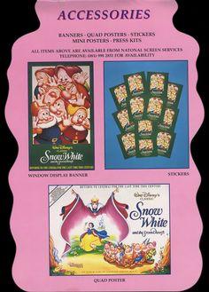Filmic Light - Snow White Archive: 1994 UK Snow White Pressbook