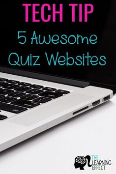 Technology tips for teachers! These 5 FREE quiz websites are engaging resources for your classroom. Students have fun learning and reviewing curriculum collaboratively or independently. Whether you have technology for your whole class or only for whole gr