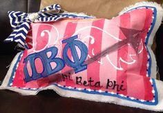 Pi Beta Phi pillow craft #piphi #pibetaphi