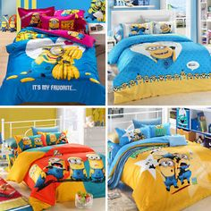 8500998907 16 Best Minion : despicable me bedding images in 2015 | Bedding, Bed ...