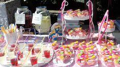 candy bar με θεμα στρουμφ