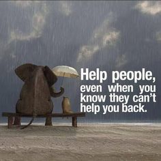"""Help people, even when you know they can't help you back.""  @raehanbobby @10MillionMiler #quote #leadership #quotes"