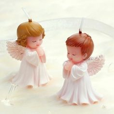 3D Cute Boy Girl Angel Silicone Candle/Cute Baby  Birthday Candles Backery Cake Decoration Sparkler Wedding Party Supplies