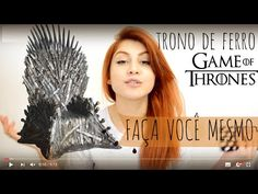 Game of Thrones cake topper - fondant Iron Throne Bolo Game Of Thrones, Game Of Trones, Fondant Cake Toppers, Iron Throne, Youtube, Games, Pastel, Cupcakes, Desserts