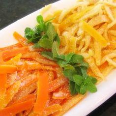 Cómo Hacer Cáscaras de Limón y Naranja Confitadas