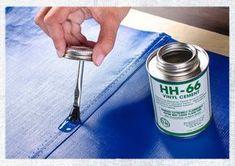 How to create waterproof seams. Sailrite 2014_July-HH66-Sealing-Vinyl-Seams