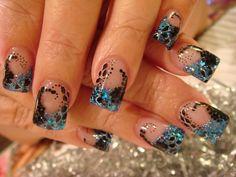 Acrylic Nail Art | ... acrylic-nails.blogspot.com/2010/09/last-days-of-summer-nail-acrylic