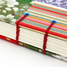 Binding books is a wonderful craft and you can be as creative with the binding and cover designs as you want to be. This page offers plenty of DIY ideas for taking your journals to the next level.
