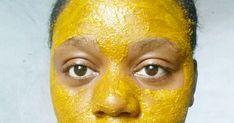 Turmeric, Natural Skin Care, Natural Hair Styles, Easy, Brown Spots On Skin, Turmeric Face Mask, Turmeric Facial