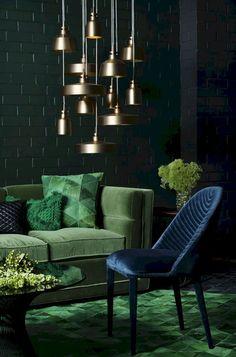 20 Best dark green living room images in 2019   Color Schemes, Color ...