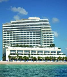 The Ritz-Carlton, Fort Lauderdale (1 North Fort Lauderdale Beach Boulevard) This oceanfront Fort Lauderdale hotel offers an outdoor pool, on-site restaurant, and a spa. Guests will also be 6 miles from Fort Lauderdale-Hollywood International Airport. #bestworldhotels #hotel #hotels #travel #us #florida