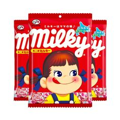 FUJIYA-Milky-Candy-Made-in-Japan Food Packaging, Cereal, Vanilla, Candy, Box, Sweet, Toffee, Candy Notes, Candles