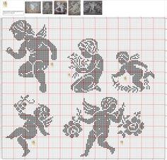 Gallery.ru / Foto # 21 - 1 - gabbach Cross Stitching, Cross Stitch Embroidery, Embroidery Patterns, Crochet Patterns, Knitting Patterns, Cross Stitch Angels, Cross Stitch Charts, Cross Stitch Patterns, Crochet Placemats