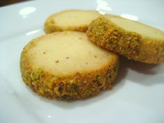 Cardamom-Pistachio Shortbread Cookies Recipe