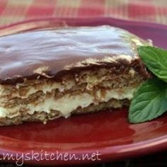Sinfully Easy Chocolate Eclair Cake:
