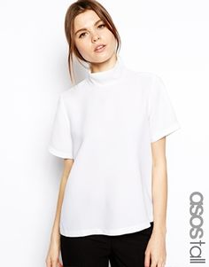 ASOS TALL Top with Clean High Neck