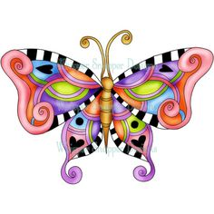Whimsy Butterfly
