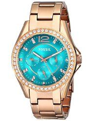 FOSSIL STAINLESS STEEL WHACH - ROSE GOLD - TONE