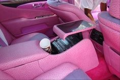 Cool Cars girly 2019 New Cars girly Pink Interior. Pink Car Interior, Interior Shop, Boat Interior, Interior Ideas, Barbie Car, Girly Car, Car Accessories For Girls, Cute Cars, Everything Pink