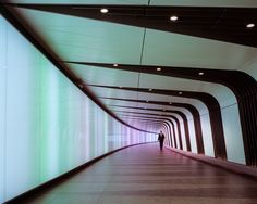 A Red Tie in Kings Cross | Allies & Morrison; Lighting installation by Speirs + Major; The Light Lab