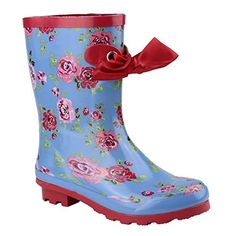 Cotswold Gatombe Ribbon Ankle Wellington  Womens Boots 5 US Flower * This is an Amazon Affiliate link. Continue to the product at the image link.