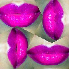 Mac #Lippie #Recipe :   Lip liner: Magenta Lipstick: Rebel  Dazzleglass: Funtabulous