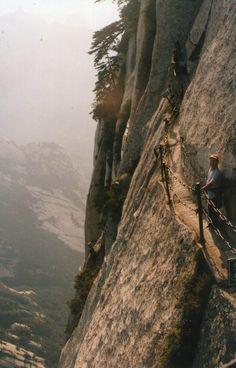 Passeio no monte Huashan