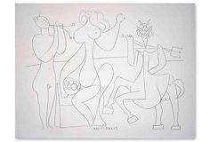 Pablo Picasso, Mes Dessins D'Antibes on OneKingsLane.com
