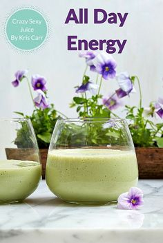 """""""PRO TIP In this blend, matcha plays deliciously well with avocado, banana, and vanilla. I recommend using homemade almond milk or cashew hemp milk in this smoothie if you can; they really enhance the taste!"""" Kris Carr, Crazy Sexy Juice, hits bookshelves on October 20, 2015. Image: Crazy Sexy Juice"""