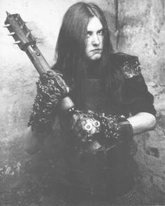 Varg Vikernes, murderer of the man who helped him break into rock and roll, specifically Norwegian black metal.