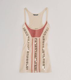 American Eagle Tank Top. This tank from AE is so cute. It can be dressed up or dressed down. Love American Eagle clothes!