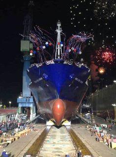 Perla-Del-Caribe-Launch-General-Dynamics-NASSCO-LR