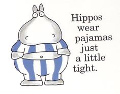 Suspiciously Hippo Like | The Moody Chick
