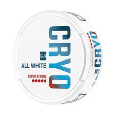 G.4 Cryo All White Super Strong: Snus kaufen G.4 Cryo All White Super Strong in der Schweiz günstig online | Snuskingdom Super White, All White, Dose, Strong, Peppermint, Switzerland