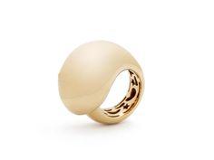 Tit ring 18ct gold