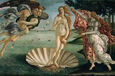 El nacimiento de Venus es una pintura de  Botticelli (1445 - 1510). Esta obra está realizada al temple sobre lienzo y pertenece al Renacimiento .Se conserva en la Galería de los Uffizi, Florencia.
