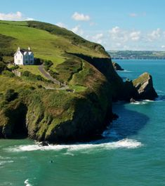 At approximately 870 miles, the Wales Coast Path traces the country's complete coastline.