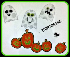 Storytime ABC's: Not a Flannel Friday: Ghostly Props
