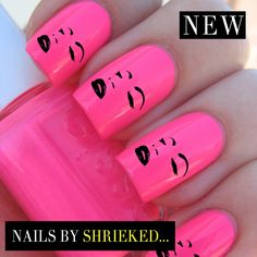 Marilyn Monroe Decal Designs For Nails