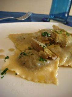 DOLCEmente SALATO: Tortelloni con patate e carciofi