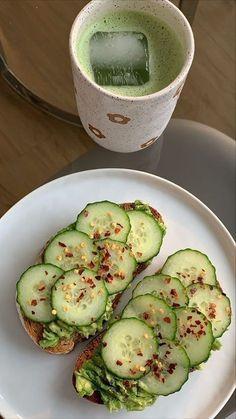 Cute Food, Good Food, Yummy Food, Plats Healthy, Food Porn, Healthy Snacks, Healthy Recipes, Vegan Lunch Recipes, Eating Healthy