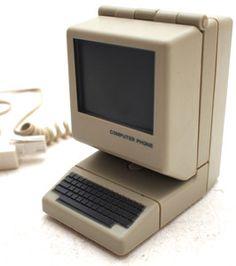 Novelty Computer Telephone