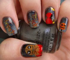 Trick 'r Treat Manicure