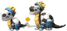 dragon mania legends pictures | Dragon Mania Legends Soccer Dragon | guide4gamers.com