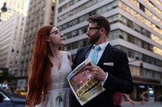 Our spontaneous wedding session in NYC - there was no professional photographer, just a friend of us, who helped with this crazy idea :)