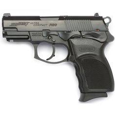 Bersa Thunder Pro Ultra Compact Semi Automatic Pistol 9mm Luger 3.25 Barrel 13 Round Capacity Polymer Grips Matte Black Finish T9MP13