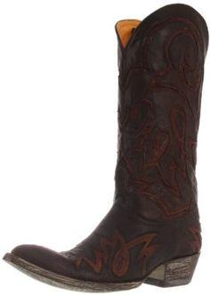 Old Gringo Women's Lauren Inlay Western Boot,Brass/Red,7 B US Old Gringo. $450.00