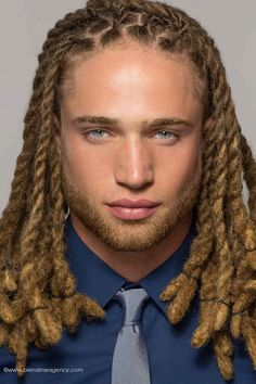 Sexy white men with dreads